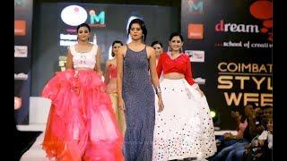 Coimbatore Fashion Show Designer Ms. Mahima Sai Priya from DreamzoneCoimbatore Style Week
