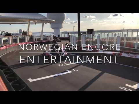 Entertainment on Norwegian Encore