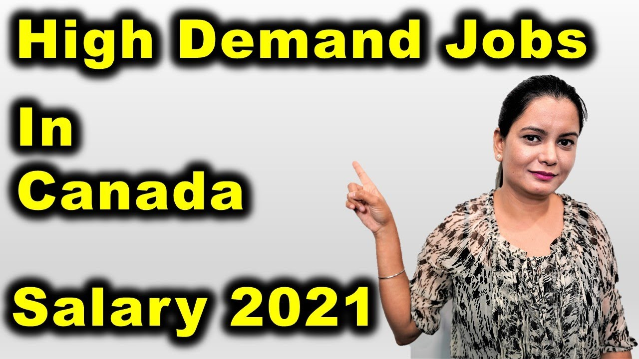 High Demand Jobs In Canada In 2021 With Salary 😲 | Canada Couple