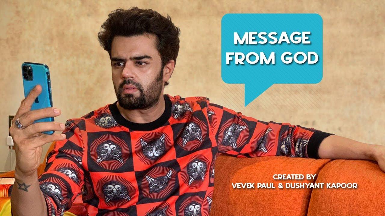 Message From God - Short Film I Manish Paul I Vevek Paul II Dushyant Kapoor II TGIFF II DK FILMS