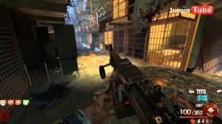 Call Of Duty Black Ops 2 Zombies PC Español - Mapa Mob Of The Dead Completo Parte 3