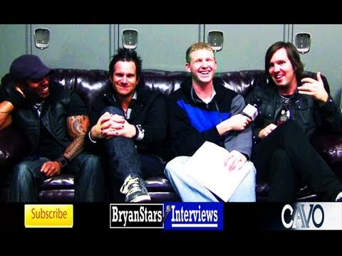 Cavo Interview Casey Walker Daughtry Tour 2009