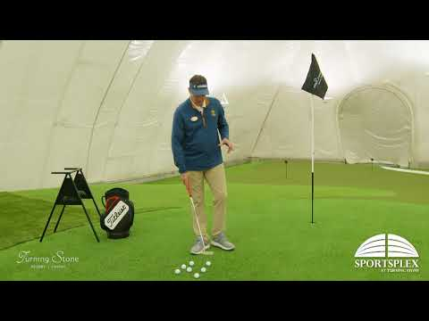 Turning Stone Golf Dome Lesson: Multiple surfaces with multiple speeds