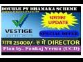 बनिये Vestige Director सिर्फ 25000 रु में & 50% Life time Discount II PANKAJ VERMA (UCD) 9649908990