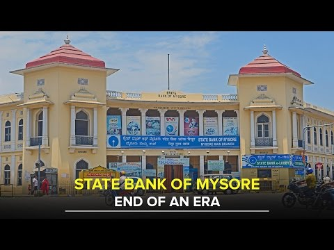 104-year-old State bank of Mysore to be merged with State Bank of India - Star of Mysore