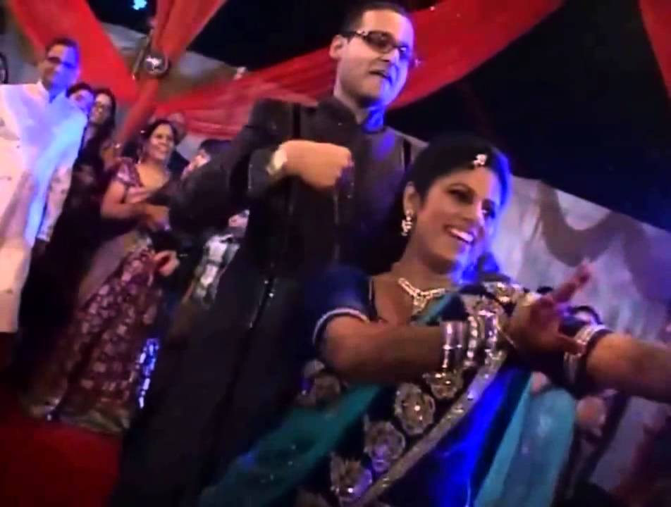 Awesome Indian Wedding Dance By Bride Groom