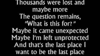 The Fray - Uncertainty - Lyrics