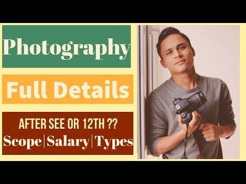 Photography Career in Nepal| Full Details| Scope/Salary/Types| Best Course after SEE or 12th| 2019||