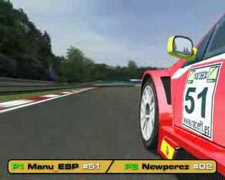 1st Race RF1 Megane 07 - Hungary - By Manu_ESP
