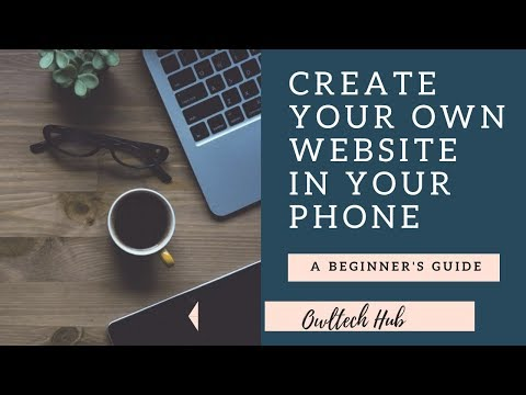HOW TO CREATE WEBSITE IN JUST 5 MIN IN YOUR ANDROID PHONE