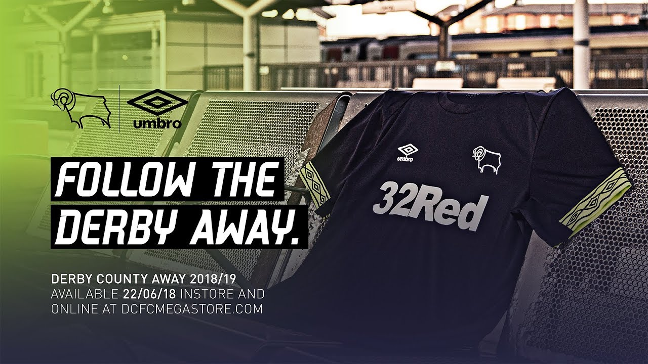 Derby County Away Kit 2018 19 Youtube