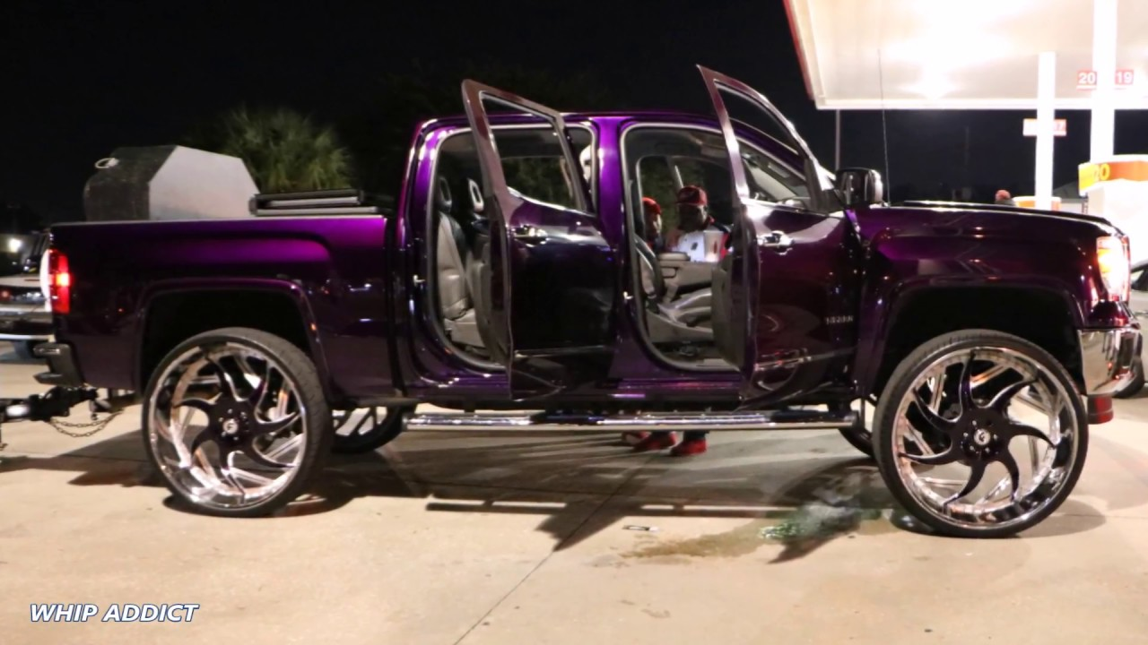 WhipAddict: Kandy Purple 2014 GMC Sierra 1500 on Forgiato ...