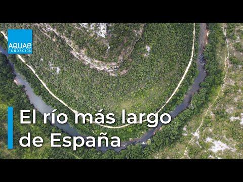 Los ríos más largos de España son el Tajo y el Ebro
