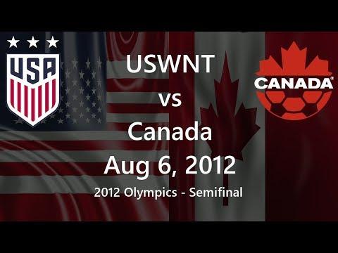 USWNT Vs Canada Aug 6, 2012