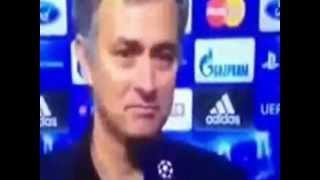 Josè Mourinho parla di Balotelli [ Post. Real Madrid - Manchester Utd. ]
