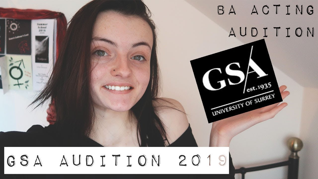 Guildford School of Acting Audition Experience 2019