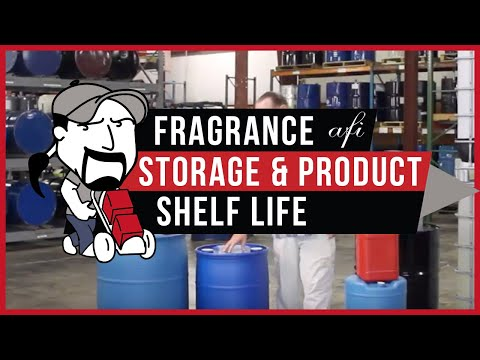FRAGRANCE STORAGE AND PRODUCT SHELF LIFE