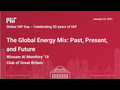 The Global Energy Mix: Past, Present, and Future