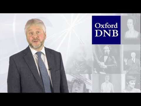 (2012) Oxford Dictionary of National Biography: January 2012 update