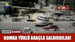 Bomba yüklü araçla saldırdılar!