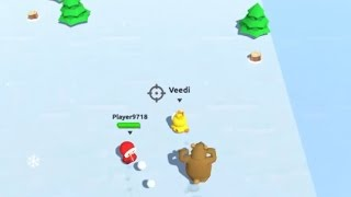 SnowFight.io Game Walkthrough