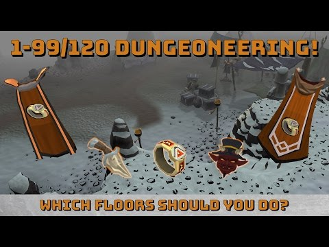 1-99/120 Dungeoneering Guide! [Runescape 3] Optimal Methods & Items