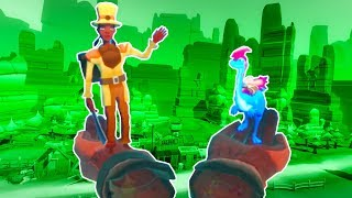 DINOSAURS and COWBOYS in Dino Frontier VR!