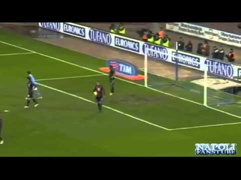 Napoli Inter Juan Camilo Zuniga Gol 15 maggio 2011 Stadio San Paolo