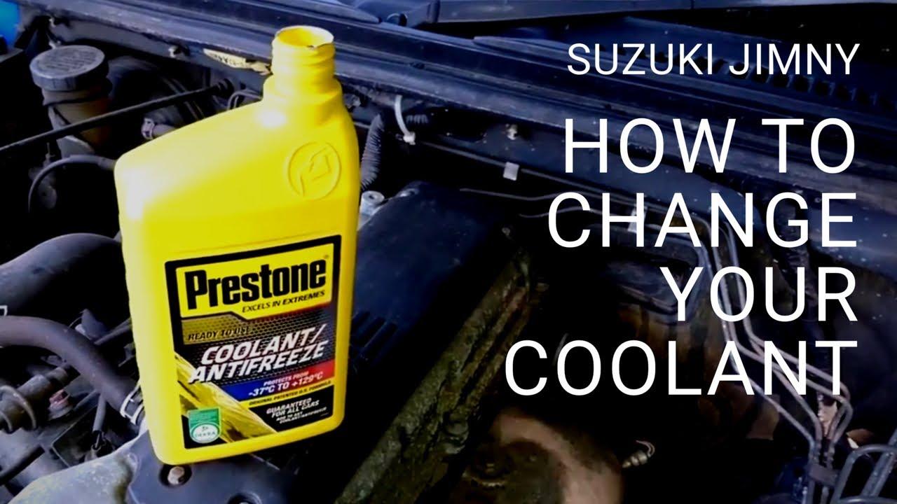 Suzuki Jimny - How to Change Your Coolant