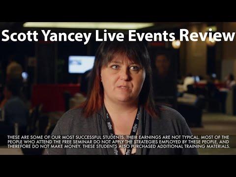 Scott Yancey Live Events Review by Tammy LaPuma
