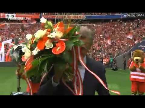 Abschied von Oliver Kahn und Ottmar Hitzfeld | Farewell to Oliver Kahn and Ottmar Hitzfeld {HD}