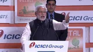 Address by Prime Minister Shri Narendra Modi at ICICI Bank