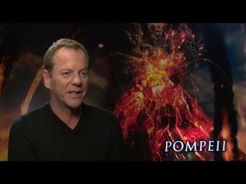 "Pompeii: Kiefer Sutherland ""Senator Corvus"" Official Movie Interview"