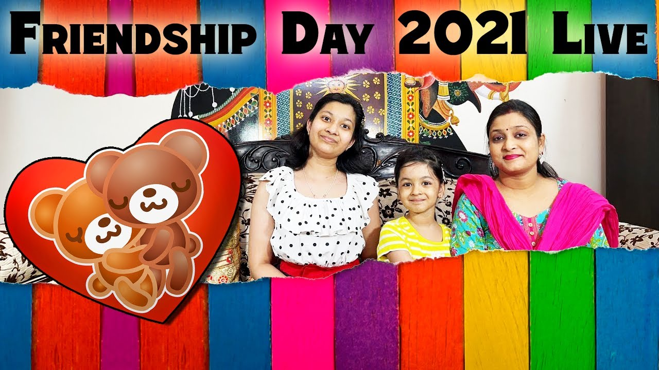 Friendship Day Live | 1st August 2021 | Cute Sisters