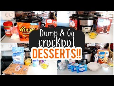 DUMP & GO CROCKPOT DESSERTS | FALL DESSERTS 2019
