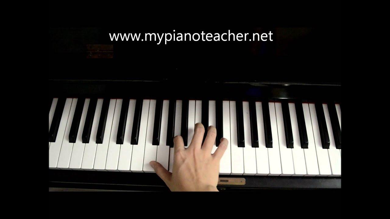 F major broken chord grade 2 youtube hexwebz Images