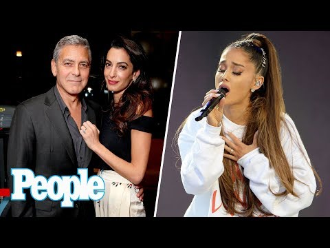 George & Amal Clooney's Twins: What To Know, Ariana Grande Releases New Single | People NOW | People
