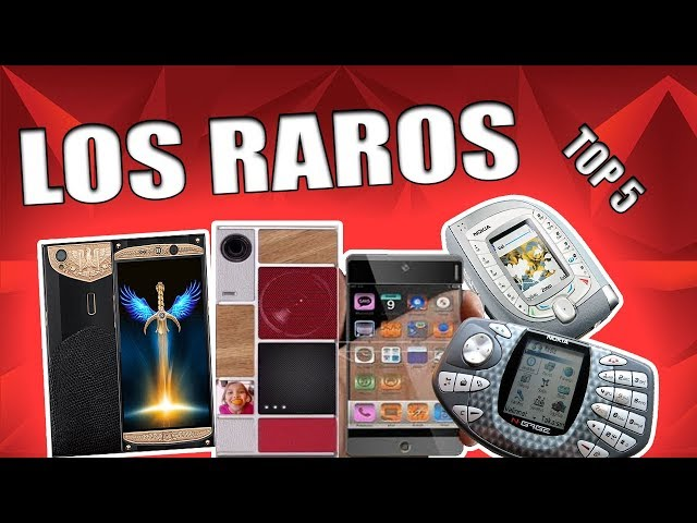 TOP 5 TELEFONOS RAROS