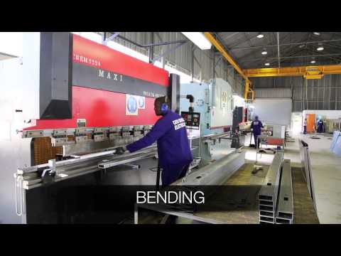 Electrical Panel Fabrication Process - STAGE 1.mov