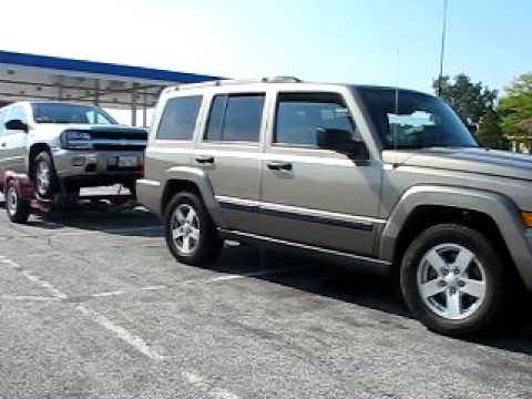 Jeep Commander Towing 7300 P For 1200 Milles