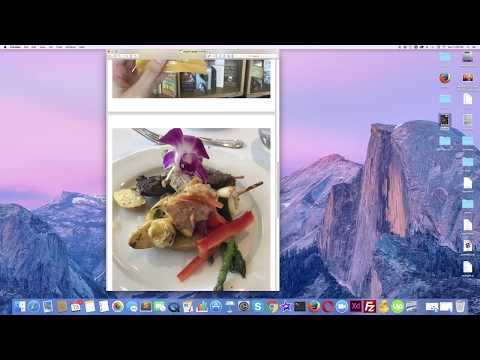 How to Combine Images into One PDF File on Mac without using any Software | 4K