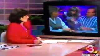 Fun on Good Morning Arizona Jodi Applegate with Beth & Bill & Matchmaker Roseann Higgins (1995)