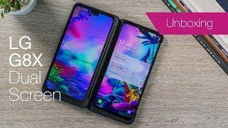 LG G8X Dual Screen unboxing & impressions