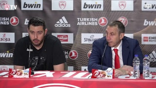 Live Press Conference Olympiacos BC - FC Bayern Munich