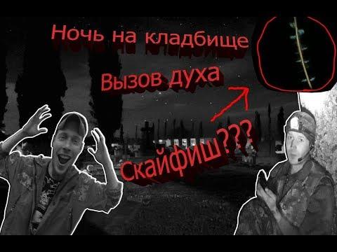 На кладбище ночью (Вызов духа): Засняли Скайфиш?