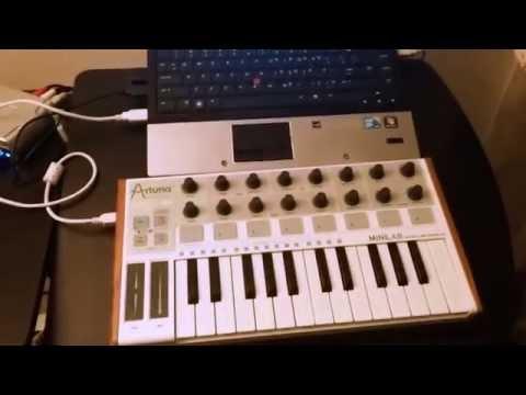 Fixing non working keys on midi keyboard
