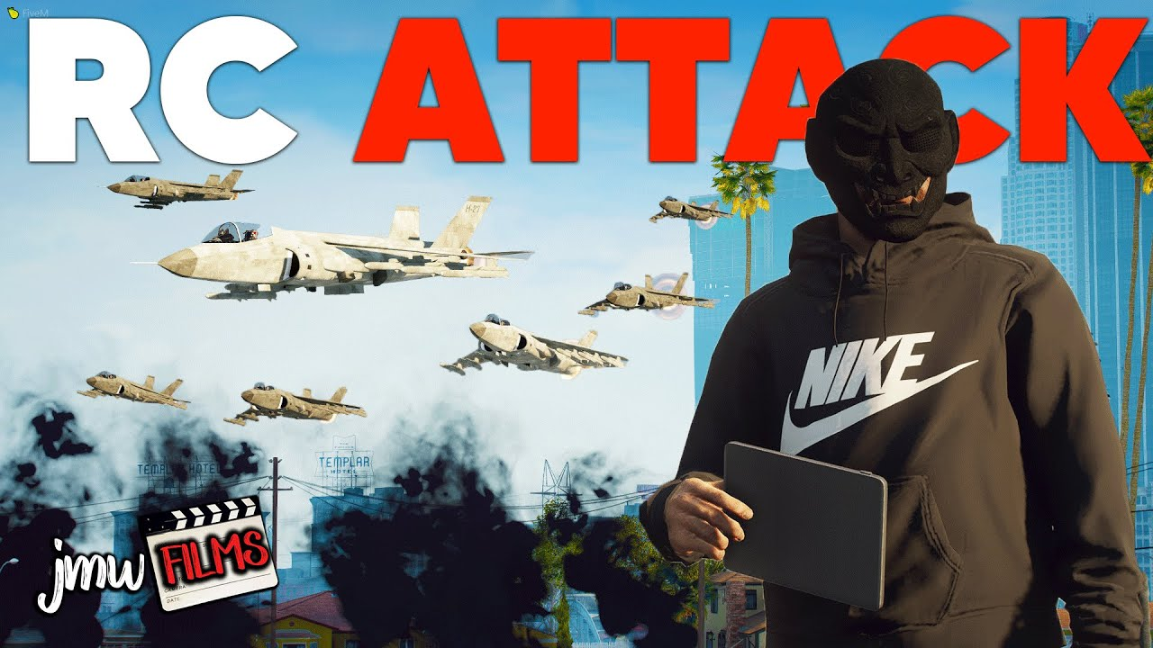 RC FIGHTER JETS ATTACK COPS! | PGN # 255 | GTA 5 Roleplay