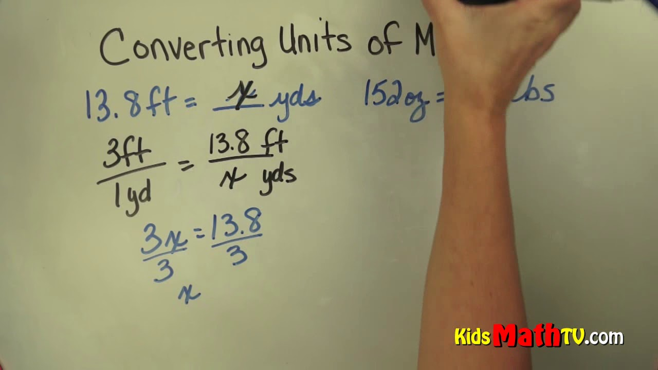 hight resolution of Convert units of measurement 6th