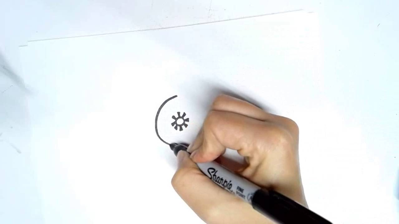 How To Draw The Adinkra Symbol For Royalty Hene Youtube