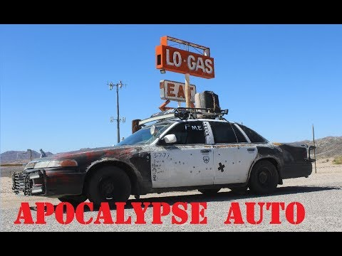 Ghost town road trip in the Apocalypse Cop Car!(WW 2017 part 2 of 3)  Apocalypse Auto ep.14